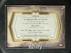 2020 Topps Transcendent Dizzy Dean Hall of Fame Ed. OVERSIZE CUT AUTO True 1/1