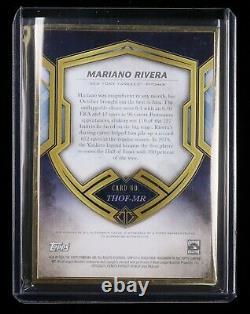2020 Topps Transcendent Hall Of Fame Mariano Rivera Auto 07/25