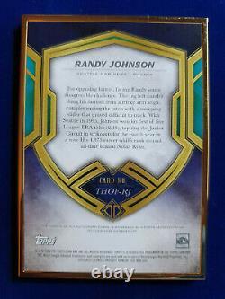 2020 Topps Transcendent Hall of Fame Gold Frame Randy Johnson AUTO #25/25
