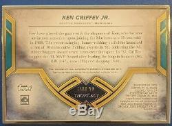 2020 Topps Transcendent Hall of Fame Ken Griffey Jr. Gold Frame Auto #ed 12/25