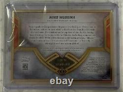 2020 Topps Transcendent Hall of Fame Mike Mussina Gold Framed Auto 4/5 Orioles