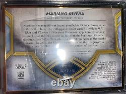 2020 Topps Transcendent Mariano Rivera Hall of Fame Emerald Auto #3/5 Yankees
