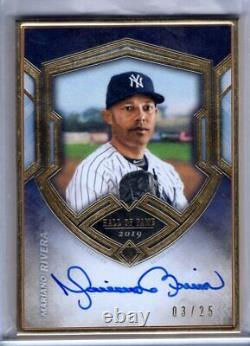 2020 Transcendent Hall of Fame Auto MARIANO RIVERA Framed AUTOGRAPH 03/25 Topps