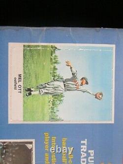 33 Unsigned Cards 1961 Golden Press Hall of Fame Baseball Stars Booklet COMPLETE