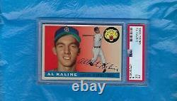Al Kaline 1955 Topps #4 Psa 5 Hall Of Fame Detroit Tigers