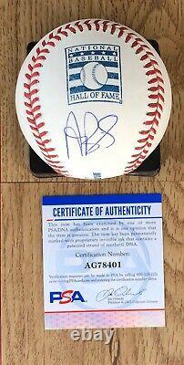 Albert Pujols Hall Of Fame HOF Autographed Signed Baseball Cardinals PSA/DNA COA