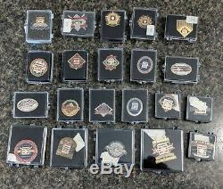 Baseball Hall Of Fame Induction Press Pin Lot/21 1990-2010 All Numbered