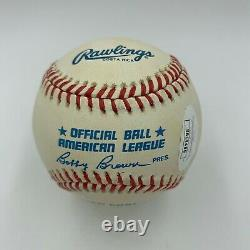 Beautiful Ted Williams Hall Of Fame 1966 Signed Inscribed Baseball With JSA COA