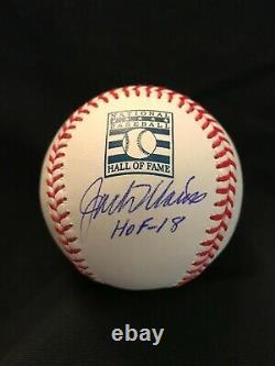 Beckett Jack Morris Hof-18 Signed Official Hall Of Fame Baseball Autographed