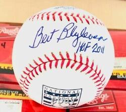 Bert Blyleven Signed Hall of Fame Baseball