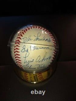Brooklyn Dodgers Hall of Fame Autographed Baseball JSA Certified