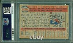 Brooks Robinson 1957 Topps Rookie #328 PSA 4 Hall of Fame/Nicely Centered