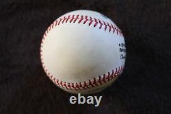 Burleigh Grimes Single Signed Baseball PSA/DNA Graded 7 Autographed Hall of Fame