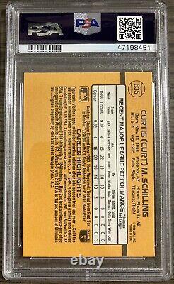 CURT SCHILLING 1989 Donruss #635 Hall Of Fame Orioles Phillies Rookie PSA 10 QTY