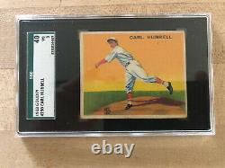 Carl Hubbell 1933 Goudey #230 SGC 40/ 3 Very Good VG Hall of Fame Nice Card