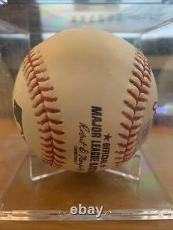 Chipper Jones Autographed Baseball HOF -MLAM Authentic Hall Of fame 2018