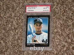 Derek Jeter 1993 Pinnacle RC Rookie Card #457 Yankees Hall of Fame HOF NYY PSA 8