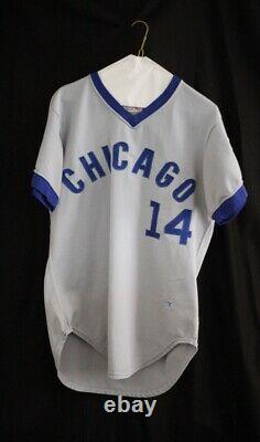 Ernie Banks 1973 Wilson Game Used Chicago Cubs Road Hall of Fame Jersey Set 2