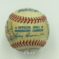 Hall Of Fame Multi Signed Baseball 23 Sigs Drysdale Snider Spahn Kaline Wynn JSA