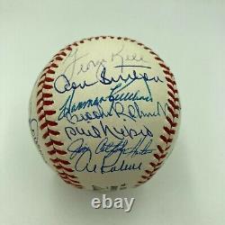 Hall Of Fame Multi Signed Baseball 23 Sigs Harmon Killebrew Stargell Beckett