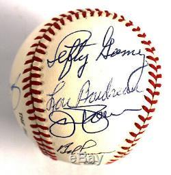 Harmon Killebrew Lefty Gomez Hall Of Fame Multi Signed Baseball 9 SIgs JSA COA