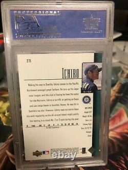 Ichiro Suzuki 2001 Upper Deck Rookie #271 PSA 10 Hall of Fame