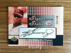 KEN GRIFFEY JR. 2004 Upper Deck Signature Stars Auto /450 Autograph Hall of Fame