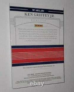 KEN GRIFFEY JR. 2020 Panini National Treasures Hall of Fame Class of 2016 #2/10