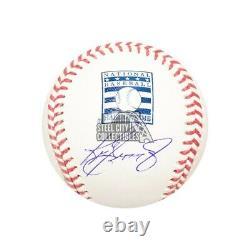 Ken Griffey Jr Autographed Hall Of Fame Official MLB Baseball BAS COA
