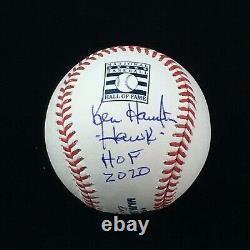 Ken Harrelson Chicago White Sox Hawk HOF Autographed Hall of Fame Baseball JSA