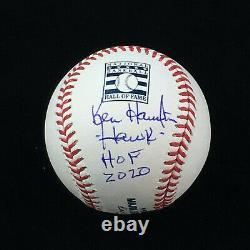 Ken Hawk Harrelson Chicago White Sox Signed Hall of Fame Baseball HOF 2020 JSA