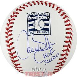 Larry Walker Autographed Hall of Fame Baseball Inscribed HOF 2020