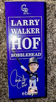 Larry walker bobblehead HALL OF FAME 9-25-21 (BRAND NEW NEVER OPENED)