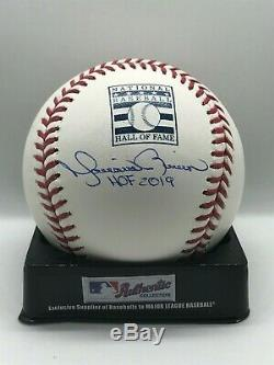 Mariano Rivera Signed Auto Rawlings Hall of Fame Logo Baseball HOF 2019 BAS COA