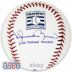 Mariano Rivera Yankees Signed 652 Career Saves Hall of Fame Baseball JSA Auth