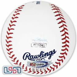 Mariano Rivera Yankees Signed Autographed Hall of Fame Baseball JSA Auth