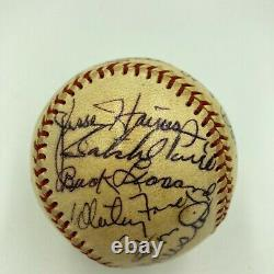 Mickey Mantle 1974 Hall Of Fame Induction Signed Baseball With Satchel Paige JSA
