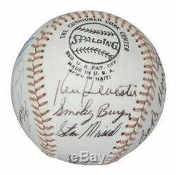 Mickey Mantle & Roger Maris 1970's Hall Of Fame Signed Baseball With JSA COA