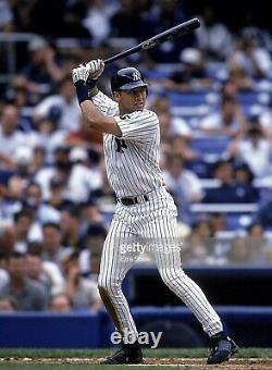 New York Yankees Derek Jeter 1999-2000 Game Used UNCRACKED LS Bat Hall of Fame