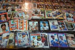 Nice Star & Hall Of Fame Baseball Rookie Card Collection! Must See