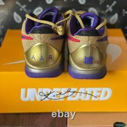 Nike Kobe 5 Protro Undefeated Hall of Fame Metallic Gold Size 8.5 DA6809-700 NEW