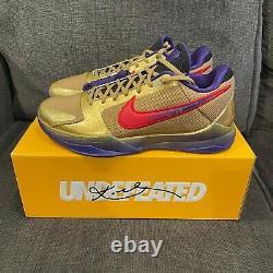 Nike Kobe 5 Protro Undefeated Hall of Fame Size 11 DS OG ALL. DA6809-700