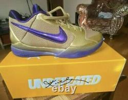 Nike Kobe 5 Protro Undefeated Hall of Fame US Men's Size 8 Brand New DA6809-700