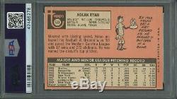 Nolan Ryan 1969 Topps Rookie #533 PSA 3 Hall of Fame Hurler / Just Graded