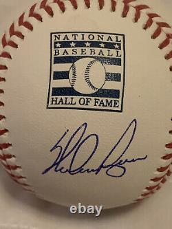 Nolan Ryan Signed / Autographed Baseball withHall Of Fame Logo Fanatics Authentic