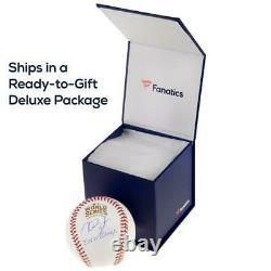 Nolan Ryan Texas Rangers Signed Hall of Fame Logo Baseball Fanatics