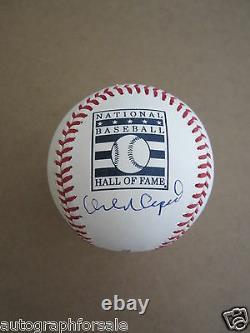 Orlando Cepeda signed autograph Rawlings Hall of Fame HOF baseball MLB hologram