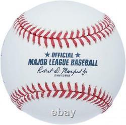 Pedro Martinez Boston Red Sox Autographed Hall of Fame Logo Baseball