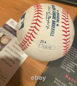 Pedro Martinez JSA Signed Autograph Baseball Hall Of Fame Inscription Snow White