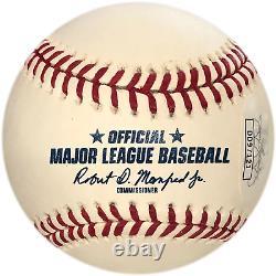 Pete Rose 4256 Autographed Hall of Fame Baseball (JSA)